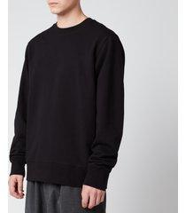 y-3 men's classic back logo crew sweatshirt - black - xl