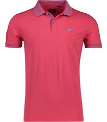 new zealand poloshirt sanson rood