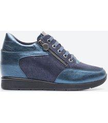 zapato casual mujer stonefly z1a3 azul