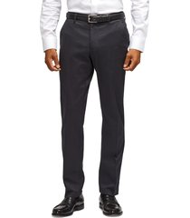 men's big & tall bonobos stretch weekday warrior slim fit dress pants, size 40 x 36 - black