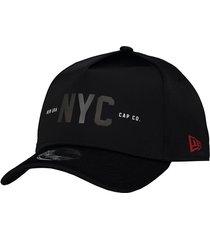 boné new era nyc logo preto