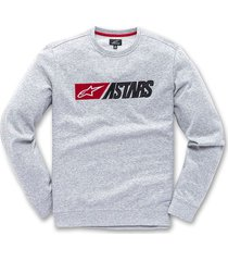 buzo alpinestars indulgent grey heather