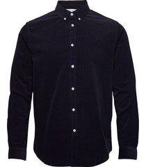 liam bx shirt 10504 overhemd casual blauw samsøe samsøe