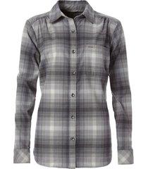 blusa merino lux flannel gris royal robbins by doite