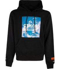 heron preston halo hoodie