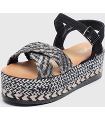 sandalia multicolor stylo shoes