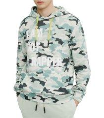 elevenparis men's knit camouflage hoodie