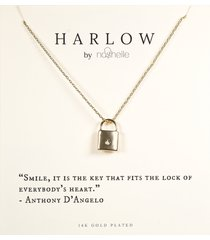 women's harlow by nashelle lock boxed necklace