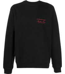 martine rose archive crewneck sweatshirt - black