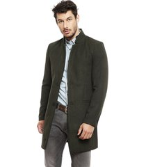 abrigo only & sons maximilian verde - calce regular