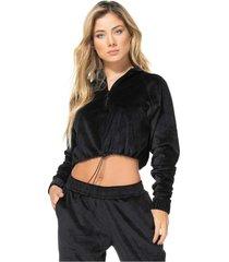 chaqueta poliéster talla única-1 negro 95023