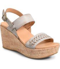 women's kork-ease austin braid wedge sandal