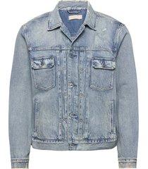 dunmore jacket jeansjacka denimjacka blå allsaints