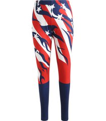 american flag elastic waist pants
