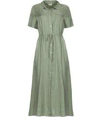 jurk met aantrekkoord cameo  groen