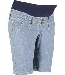 shorts prémaman a righe (blu) - bpc bonprix collection