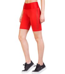legging biker leisure rojo ngx
