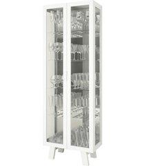 cristaleira cr6000 tecno mobili branco