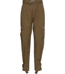 gienna pantalon met rechte pijpen groen mbym