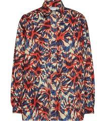 dune blazer overhemd met lange mouwen multi/patroon hope