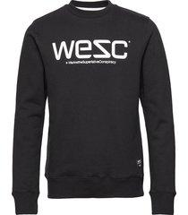 wesc sweatshirt sweat-shirt tröja svart wesc