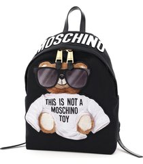 moschino teddy bear sunglasses backpack