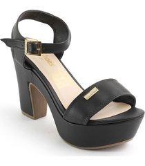 calzado dama tacon 182405negro