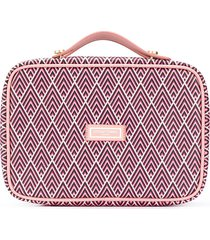 otis batterbee the carry-on toiletries bag - pink
