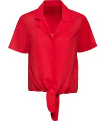 camicetta con nodo (rosso) - bodyflirt