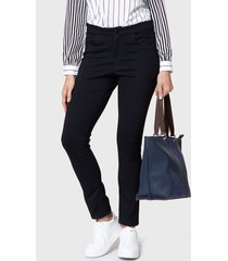 jeans nautica negro - calce ajustado