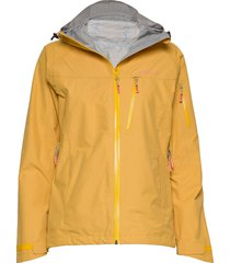 børgefjell 2,5-layer technical shell jacket outerwear sport jackets gul skogstad