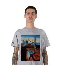 camiseta   stoned dali cinza