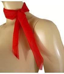 1616 (red-) 50's chiffon scarf