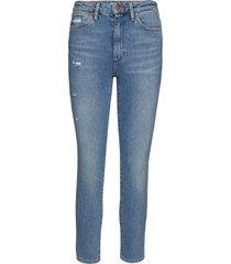 retro skinny skinny jeans blå wrangler