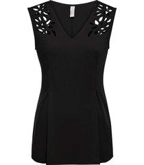 maglia con cut-out (nero) - bodyflirt boutique