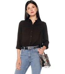 camisa negro ambiance