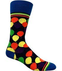 love sock company men's casual socks - ballons