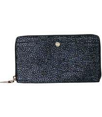 borbonese large zip-around wallet