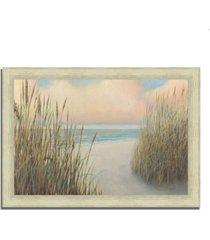 "tangletown fine art beach trail i by james wiens framed painting print, 36"" x 26"""