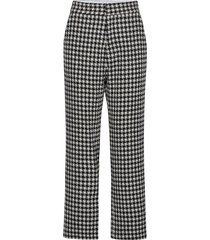 pella by nbs pantalon met rechte pijpen zwart custommade