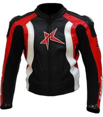 mens biker leather black red white biker leather jacket men style