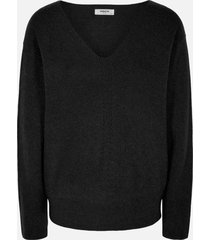 moss copenhagen 14592 jilli v pullover zwart