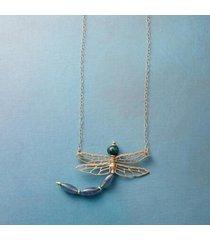 jennifer dawes women's dragonfly's dance necklace by sundance