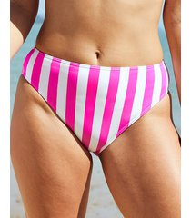 corsica high waist high leg tummy control bikini bottom