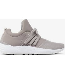 sneakers raven mesh s-e15 grey - women