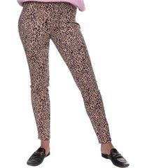 bruine tregging janice leopard