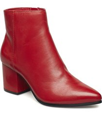 fralissi shoes boots ankle boots ankle boots with heel röd aldo
