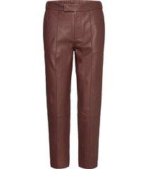 day grow leather leggings/broek bruin day birger et mikkelsen