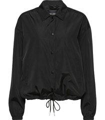 coach jacket zomerjas dunne jas zwart han kjøbenhavn