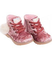 botín bunny tail palo rosa stepps